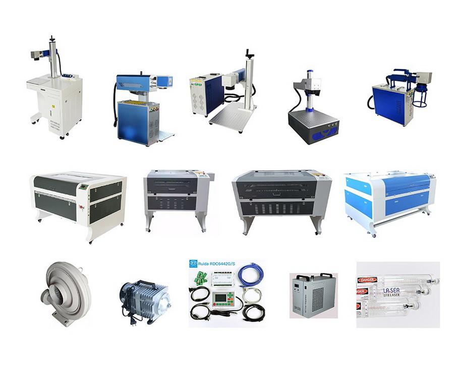 комплектующие лазерный станок 6040;6090;1080;